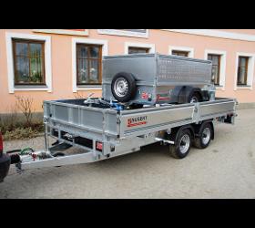 Plateuanhänger - Hochlader - Plateautransporter