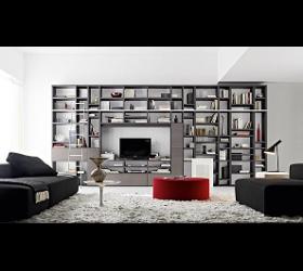 Ausstattungsplanung für Wohnzimmer