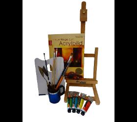 Pinsel und Farben für Hobby-Künstler - Farben Fred Robert Steger