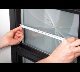 Reparatur von Fensterglas und Glasscheiben