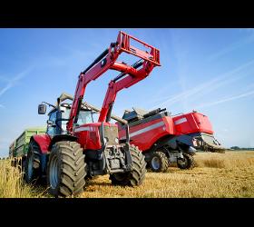 Belehnung von Traktoren