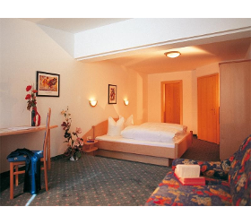 Doppelzimmer - Silvretta - Halbpension - Hotel Zontaja