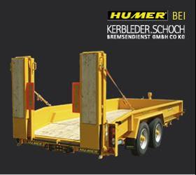 Verkauf und Service von Humer Anhänger in Vorarlberg - Tieflader