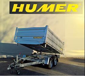 Verkauf und Service von Humer Anhänger in Vorarlberg - PKW-Anhänger
