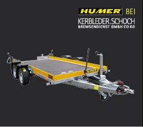Verkauf und Service von Humer Anhänger in Vorarlberg - Absenkanhänger