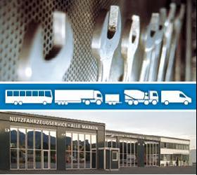 Wartung, Reparatur und Überprüfung am Nutzfahrzeug, LKW, Bus ....
