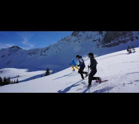 Schneeschuhwandern Aktiv Zentrum Bregenzerwald Lutz Schmelzinger Adventure Sports