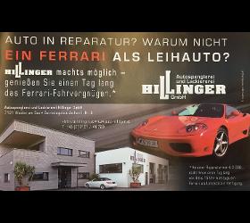 Ferrari als Leihwagen