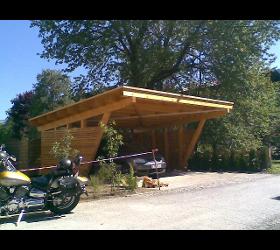 Carport, Garage & Flugdach