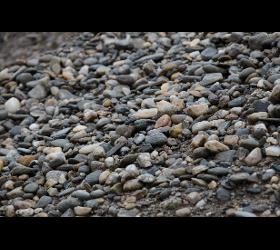 Schotter - Kies - Erde - Riesel