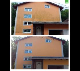 Algenmax bei Micheluzzi Algenentfernung - Fassadenreinigung